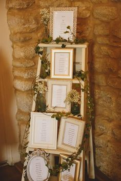 Vintage step ladder table plan - simple yet effective...