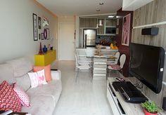 antes e depois - reforma - apartamentos pequenos - comprado na planta - apartamento -