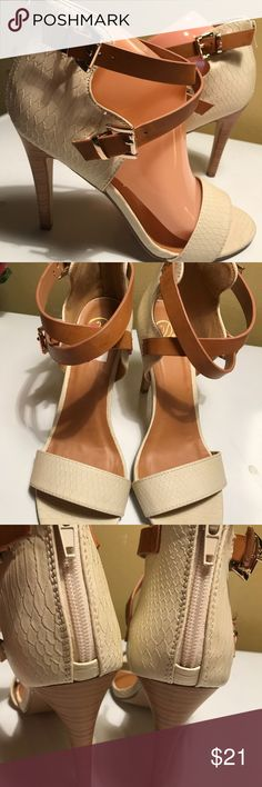 My Delicious Women's Heels Sandals size 9 NEW Beautiful Heels Sandals new excellent condition My Delicious Shoes Heels
