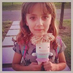 Bella Lola  #muyamuya #muyaditos #lola #bella #muñequita #linda #juguete #hechoamano #doll #cute #toy #handmade #pretty #amigurumi #crochet #instacrochet by muya.muya.nat