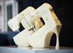 Sewing machine shoes. LOL - Find 150+ Top Online Shoe Stores via http://AmericasMall.com/categories/shoes.html