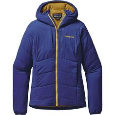 Patagonia - Nano-Air Hooded Insulated Jacket - Women's - Harvest Moon Blue