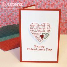 Lisa's Creative Corner: January Project Kit - Valentine Cards and Treat Tubes