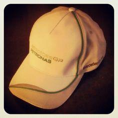 Mercedes GP Petronas hat courtesy of Mercedes Benz of Austin