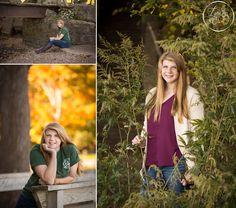 Natural high school senior portraits
