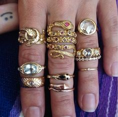 Some amazing rings.