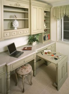 craft room ideas and layouts | Custom Wood Products Cabinetry (CWP)
