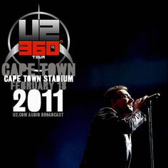 On this day in 2011, U2 played Cape Town Stadium in Cape Town, South Africa.  Audio, recap, links, and setlist: http://u2.fanrecord.com/post/111441708774/u2-share-the-stage-with-yvonne-chaka-chaka-in