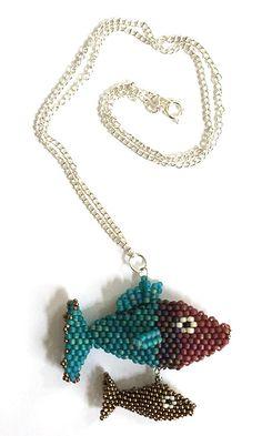 Nita E Kaufman - more fishey jewelry.