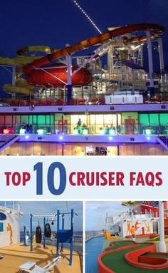 Top 10 FAQs From Cruise Rookies : New to cruising? These 10 tips from a seasoned cruise fan will help you prepare for your dream vacation. Packing For A Cruise, Cruise Tips, Cruise Travel, Cruise Vacation, Disney Cruise, Vacation Destinations, Vacation Trips, Dream Vacations, Vacation Spots