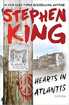 """Read """"Hearts In Atlantis"""" by Stephen King available from Rakuten Kobo. Stephen King, whose first novel, Carrie, was published in the year before the last U. troops withdrew from Vietn. Atlantis, The Lawnmower Man, Free Books, My Books, Stephen King Novels, Fiction, Good Marriage, First Novel, York"""