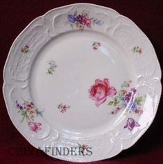 rosenthal china | Details about ROSENTHAL china SANSSOUCI FLORAL R582 pattern SALAD ...