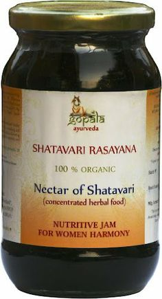 SHATAVARI RASAYANA - 100% USDA CERTIFIED ORGANIC - 500gm by Gopala Organic. $29.95. Shatavari Rasayana is a special blend of herbs carefully formulated for the health and vitality of women. Shatavari, literally one with a hundred husbands, is commonly known as the queen of ayurvedic herbs for the unique and potent revitalizing effect which she has on the female body. In this herbal jam the power of shatavari is harnessed in a sweet and nourishing form that is a great daily toni...