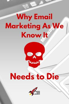 So many new bloggers fall into the trap of bad email marketing strategies. Don't be one of them. Here's why email marketing as we know it needs to die. via @pattitudez