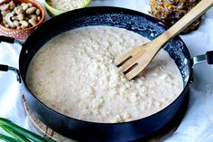 Coconut Rice with Pineapple and Cashews is about to become your new addiction! This Coconut Rice is sweet, slightly creamy cooked coconut milk, pineapple juice and crushed pineapple, brightened by cilantro, lime and roasted cashews AKA HEAVENLY! Pineapple Coconut, Coconut Rice, Jerk Marinade, Carlsbad Cravings, Roasted Cashews, Rice Recipes, Grains, Lime, Healthy Eating