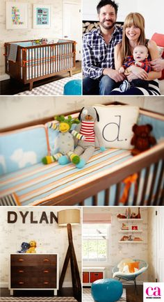 modern-baby-boy-nursery (love the rug)