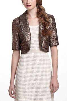 Pebbled Foil Jacket ON SALE at Anthro! Only $39.95!