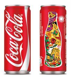 Latas de Coca Cola edición especial para Cataluña