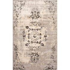 Features:Construction: Machine madeMaterial: 100% ViscoseCollection: VintageColor of the rug is brown