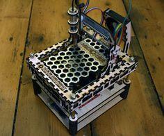 The MicroSlice | A tiny Arduino laser cutter
