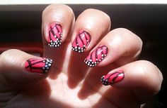 Butterfly wing nails :)