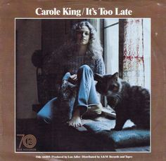 Carole King's It's Too Late is Record of the Year in 1971