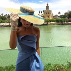 "1,014 Me gusta, 12 comentarios - Invitada Ideal by Margarita (@invitadaideal) en Instagram: ""Ideal @marta.msanchez con vestido by @asos_es y Pamela de paja natural! El detalle de los guantes…"" Cute Dresses, Formal Dresses, Wedding Dresses, Derby Outfits, Hats For Women, Clothes For Women, High Fashion, Womens Fashion, Camille"