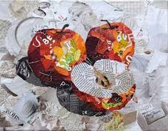 Image result for painting with paper