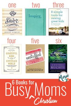A great list of books for the busy Christian mom that can be read in short increments. (Plus a bonus fiction pick!)