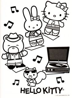 Sanrio Characters - Color Me