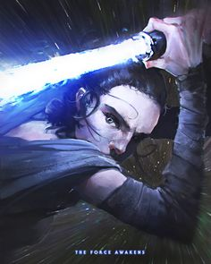 ...just let it in! this shot stuck with me and i had to draw it what a moment! kinda says it all right there in one shot Star Wars, Rey, Kylo Ren © Lucasfilm / Disney tumblr