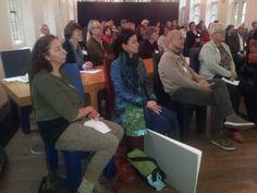 Mireille Geus, Suzanne Buis e.a. Symposium 'De kunst van het schrijven', Centraal Museum, Utrecht, 29-11-2013.