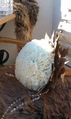 Tone in Tone - Tone in Tone White Bouquets, Floral Design, Coconut, Bridal, Create, Floral Patterns, Brides, Bride, Wedding Dress