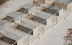 Architectural models by Innauer Matt Architekten