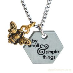 Simple Things Bee Necklace [$17.99]