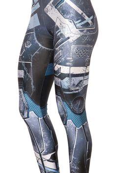 Mecha Leggings (WW $75AUD / US $70USD) by Black Milk Clothing
