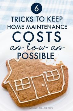 They say when you buy a house you need to budget twice as much as you *think* you need for repairs. It's so true!! I had a sewer pipe break, my furnace stopped working, and then my waterline froze ALL IN THE SAME WEEK. This post about home maintenance tips is exactly what I needed to get my housing budget back on track and avoid another disaster!