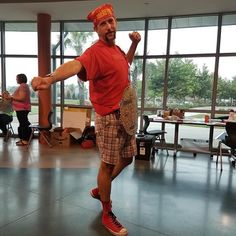 You know when today was a good day when you get to dress up like @hulkhogan AND teach #hcspdl #ETTF campers on how to use a Makey Makey #brother
