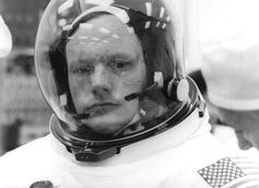 Neil Alden Armstrong, Mission Commander, Apollo 11, 16 july 1969. (NASA)