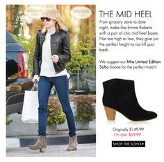 Get your perfect fall boot here! On sale for only $69.99, Shop the Mia Limited Edition Soho now! http://www.miashoes.com/mia-limited-edition/soho.html