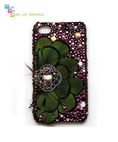 iphone 4 case  iphone 4s case  case for Iphone 4 by RoseNie, $39.99