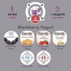 Blackberry Yogurt Посвящается всем сладкоежкам! Потрясающий рецепт ежевичного йогурта с клубникой, объедение! #тпа #tpa #tfa #самозамес #рецептыжидкостей #vapebomb #ароматизаторы #ароматизаторы_tpa #ароматизаторы_тпа #vapebombru #рецептытпа #vapeрецепты #рецептыvapebomb
