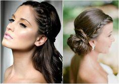 Resultado de imagem para penteados para casamento