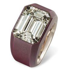 Hemmerle • diamond • white gold • bronze