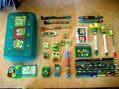 If ur accessories didn't match ur pencil box u were NOTHING!!!   **Kerropi **!!!