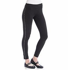 Marc York Womens Medium Studded Legging Pants Black M Autumn Fashion Casual, Leggings Are Not Pants, Black Pants, York, Medium, Women, Black Slacks, Black Chinos, Black Trousers