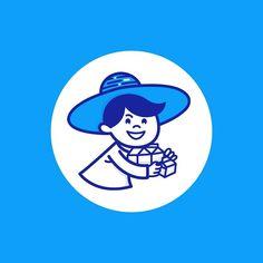 """Icono de la Chicha """"El Chichero""""  #Chicha #venezuela #parmalat #ElChichero #iconovenezolano #icono #iconaday #graphicdesign #ilustration #diseñovenzolano #oldschool by iconosvenezolanos"""