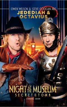 Night At The Museum: Secret Of The Tomb (Jedediah And Octavius)