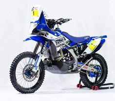 suzuki rally bike | ... releade with the 2014 dakar rally yamaha yz450f rally that will fight