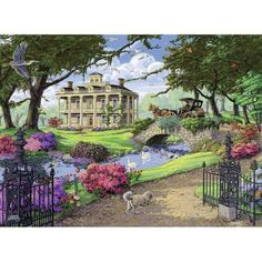 Visiting the Mansion Puzzle, Multicolor